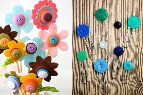 Craft Ideas Buttons on Button Craft